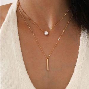5/$12 💞 2Pc Gold Fashion Boho Necklaces